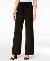 XOXO Juniors' Belted Wide-Leg Pants