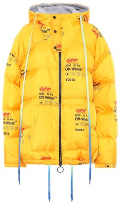 Off-White Printed down jacket
