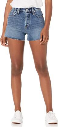 Hudson Women's Denim Shorts Cut Off Vintage Inspired