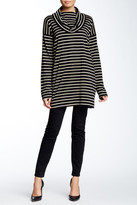Joan Vass Long Sleeve Cowl Tee