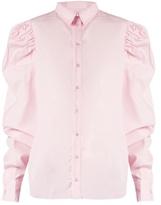 Marques Almeida MARQUES'ALMEIDA Puff-sleeved cotton-poplin shirt