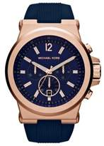 Michael Kors Men's MK8295 Dylan Silicone Watch, 48mm