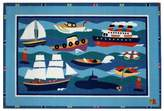 Fun Rugs Olive Kids Boats and Buoys Rug - 19'' x 29''