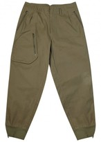 Kolor Olive Cotton Cargo Trousers