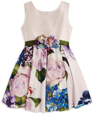 Lesy Floral Embroidered Dress (3-14 Years)