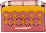 Burberry - cut-out detail cardholder