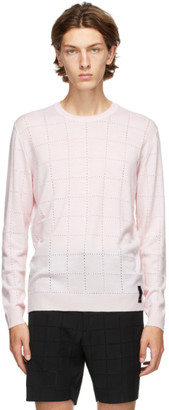 Fendi Pink Wool Sweater