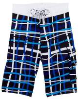 Snapper Rock Mod Plaid True Boardies (Toddler, Little Boys, & Big Boys)