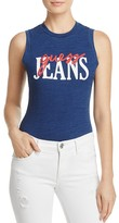 GUESS Sleeveless Logo Bodysuit