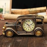 Buckdirect Worldwide Ltd. Simulation Vintage Car Alarm Clock Multifunctional Pencil Vase Antique Car Model Creative Decor