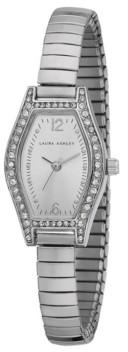 Laura Ashley Ladies' Silver Expandable Bracelet Watch