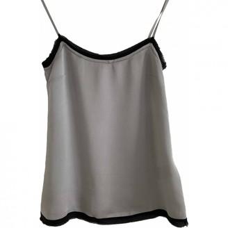 Schumacher Silver Silk Top for Women