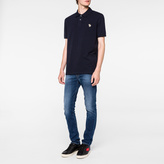 Paul Smith Men's Navy Zebra Logo Polo Shirt