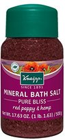 Kneipp Mineral Bath Salt, Pure Bliss,17.63 fl. oz.