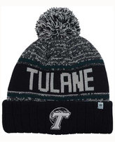 Top of the World Tulane Green Wave Acid Rain Pom Knit Hat