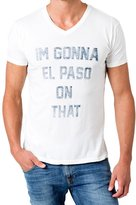 Sol Angeles Men's El Paso V-Neck Tee - White