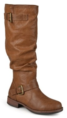 Journee Collection Stormy Extra Wide Calf Riding Boot