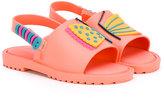 Mini Melissa Mia Fabula sandals - kids - PVC/Leather/rubber - 20