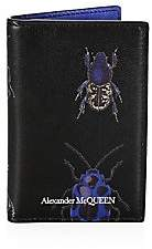 Alexander McQueen Men's Insect Leather Card Holder