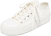 Maison Margiela Canvas Lace Up Sneakers