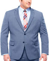 Jf J.Ferrar Pattern Classic Fit Stretch Suit Jacket-Big and Tall