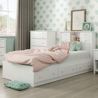 """South Shore Little Smileys Twin Mates Bed (39"""") with 3 Drawers, Multiple Finishes"""
