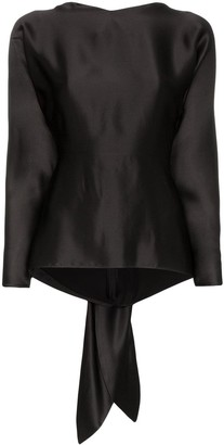 Deitas Mia tie-back blouse