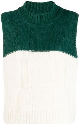 Plan C Knitted Wool Gilet