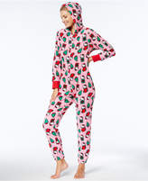 Hello Kitty Winter Dreams Printed Hooded Jumpsuit