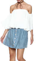 Ily Couture Hearts A Flutter Blouse