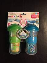 Munchkin Click Lock Decorated Insulated Big Kid Cup, 9 Ounce (2 Pack)