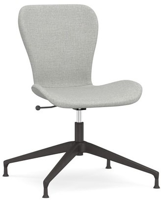 Pottery Barn Burke Upholstered Swivel Desk Chair