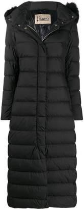 Herno padded parka coat