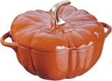 Staub 3.5 Qt Pumpkin Cocotte, Burnt Orange