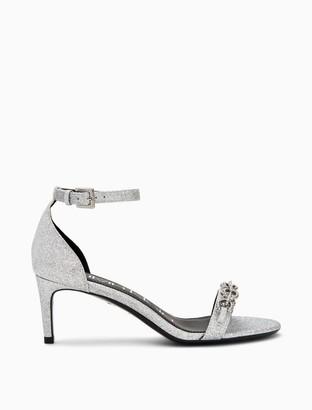 Calvin Klein Reem Dusty Glitter Heel Sandal