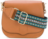 Rebecca Minkoff Sunny saddle bag - women - Cotton/Leather - One Size