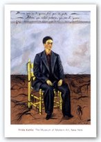 "McGaw Graphics Self-Portrait with Cropped Hair, 1940 by Frida Kahlo 17""x12"" Art Print Poster"