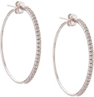 Mattia Cielo Embellished Hoop Earrings