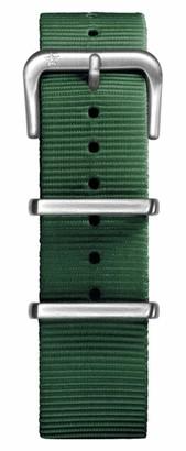 Oxygen Unisex Green Nylon Buckle Pin of 20cm