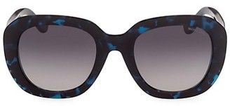 Moncler 54MM Round Sunglasses