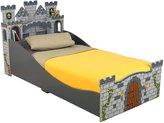 Kid Kraft Medieval Castle Toddler Bed- Gray