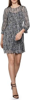 Reiss Burnout Ditsy Dress