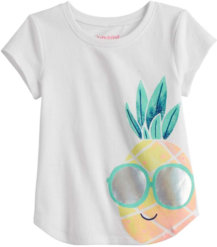 3fb357fd1 Jumping Beans Toddler Girls Tee - ShopStyle