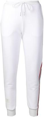 Thom Browne RWB-stripe track pants