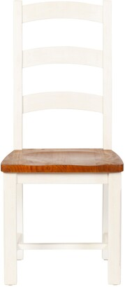 Design Tree Home Stacy Ladder Back Dining Chair