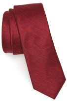 The Tie Bar Festival Textured Silk & Linen Tie