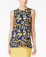 Kasper Printed Tunic Top