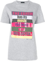 Etro - slogan print T-shirt