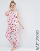 Asos Dinosaur Print Tank & Legging Pajama Set