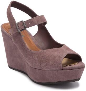 Trask Tessa Platform Wedge Sandal